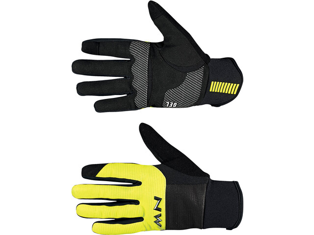Northwave Power 3 Full Gloves black/yellow fluo